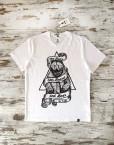 camiseta_hombre_bear_blanca