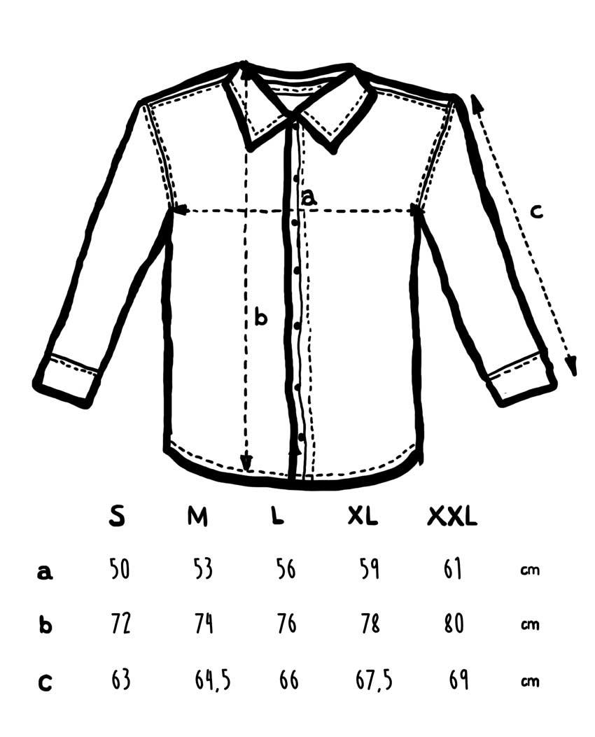 Camisa vaquera tsir tallajes