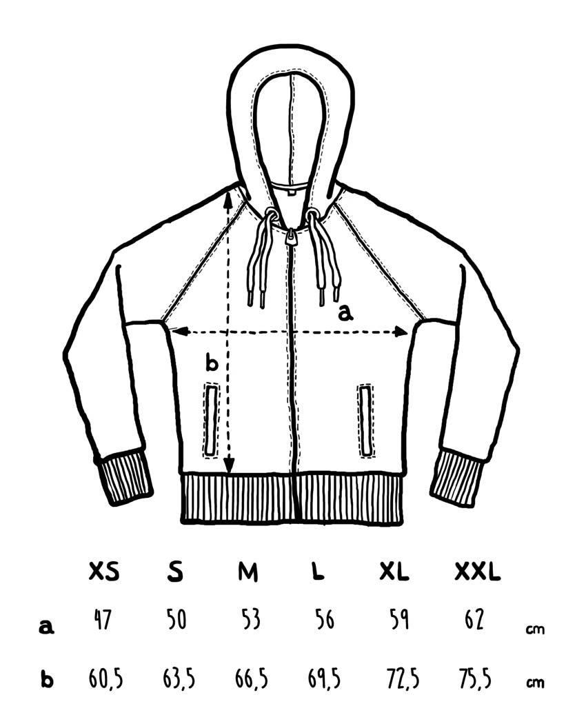 Sudadera cremalleta T-SIR unisex tallajes