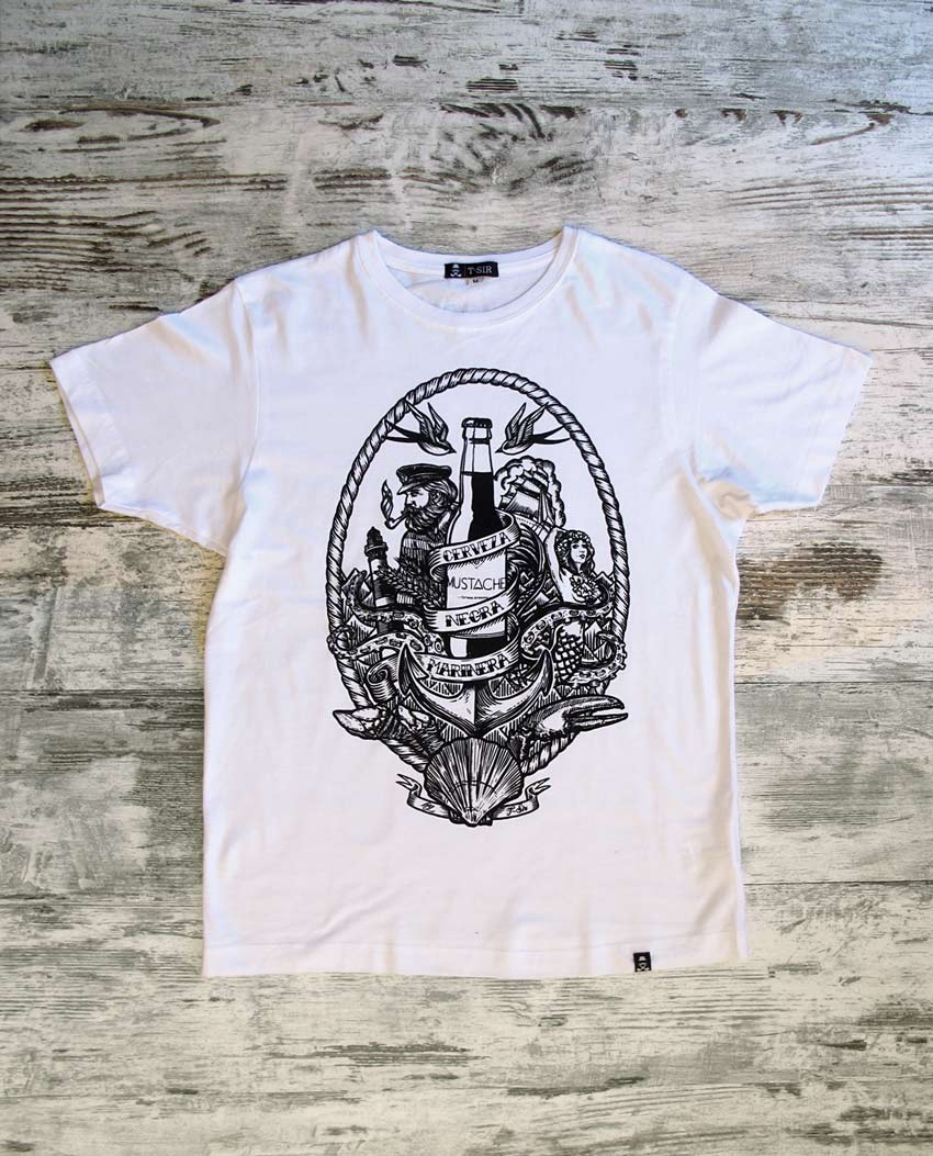 camiseta_hombre_cerveza_mustache_blanca