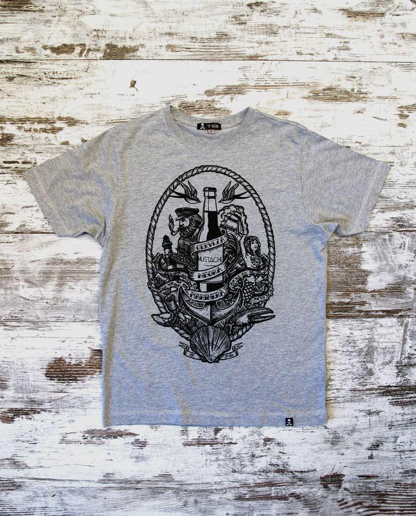 camiseta_hombre_cerveza_mustache_grisa